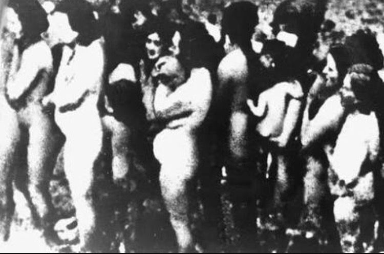 Naked jewish girls in concentration camps